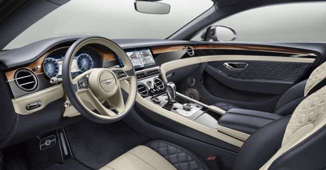 Bentley представила нове купе Bentley Continental GT на базі Panamera