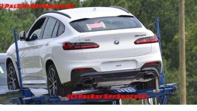 Новий BMW X4 «застукали» без камуфляжу