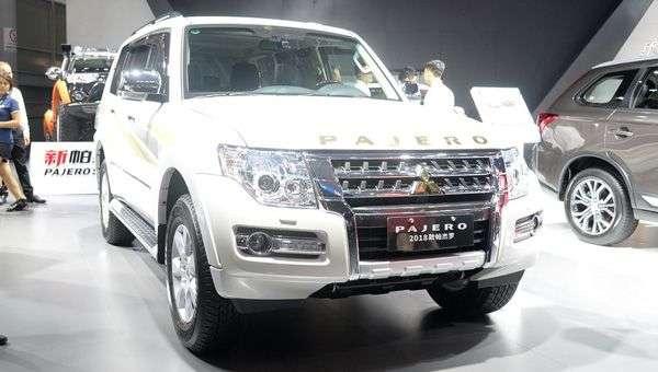 У Китаї почалися продажі оновленого позашляховика Mitsubishi Pajero
