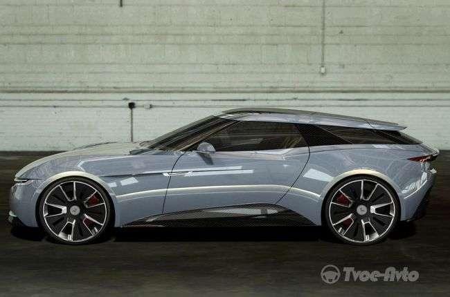 Британці презентували концепт електричного суперкара GT Alcraft