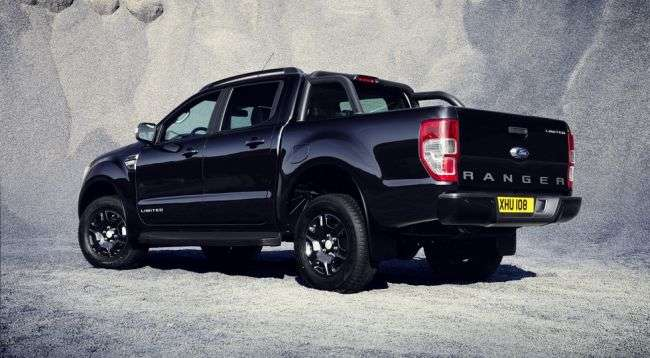 Особливий пікап Ford Ranger Black Edition представлять у Франкфурті