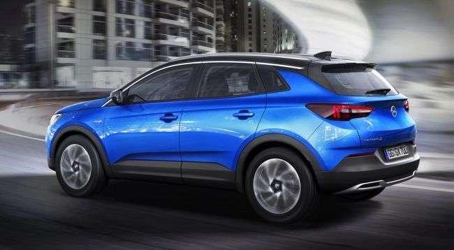 Премєра великого кросовера Opel Grandland X» відбудеться у вересні