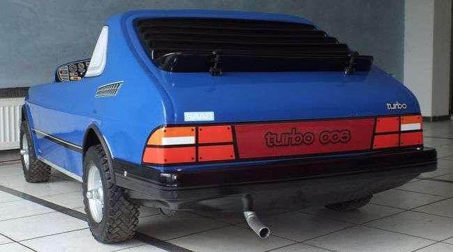 Дитяча модель з ДВС Saab 006 Convertible Junior виставлена на продаж