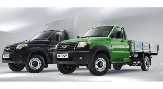 «УАЗ» офіційно представив новий вантажівка «Профі»