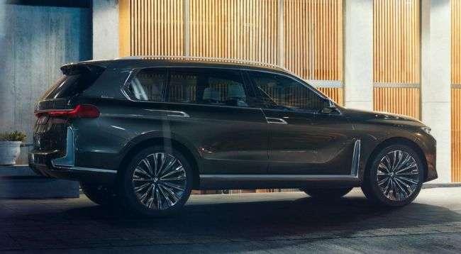 У Мережі показали новий флагманський кросовер BMW X7