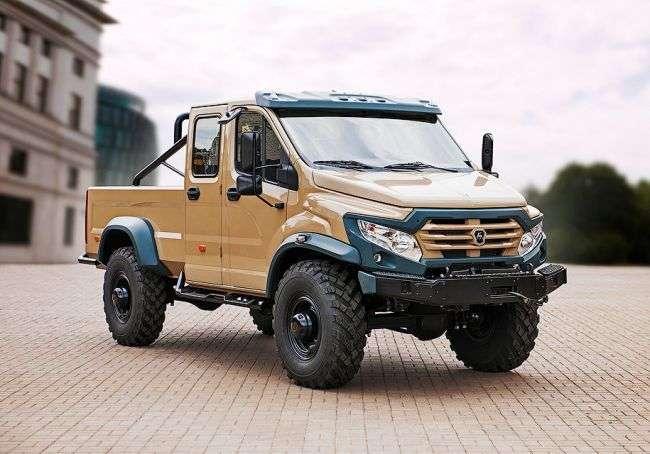Дизайнер звинуватив «Групу ГАЗ» в плагіаті з позашляховиком «Вепр-Next»