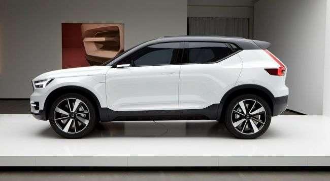 Volvo анонсувала премєру нового кросовера XC40 на 21 вересня