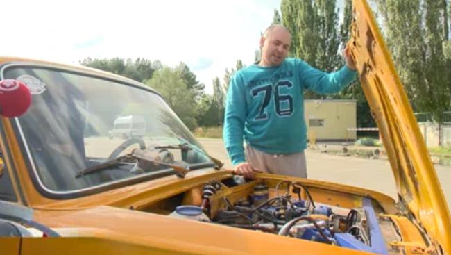 ВАЗ-2101 «Копійка» перетворили в гоночний автомобіль умільці з Пензи
