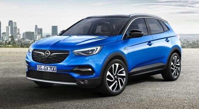 Opel привіз до Франкфурту новий великий кросовер Grandland X