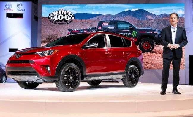 Toyota почала продаж «пригодницького» RAV4 Adventure 2018 в США