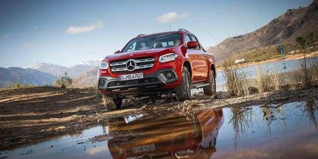 Віце-президент BMW назвав новий пікап Mercedes-Benz X-Class «жахливим»