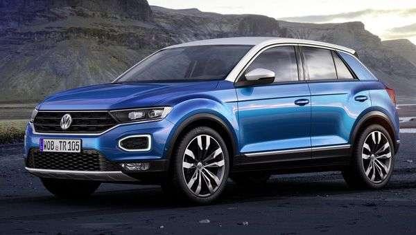 Початкова ціна нового Volkswagen T-Roc 2018 склала 20 390 євро