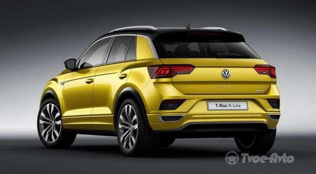 Офіційно представлена нова версія Volkswagen T-Roc