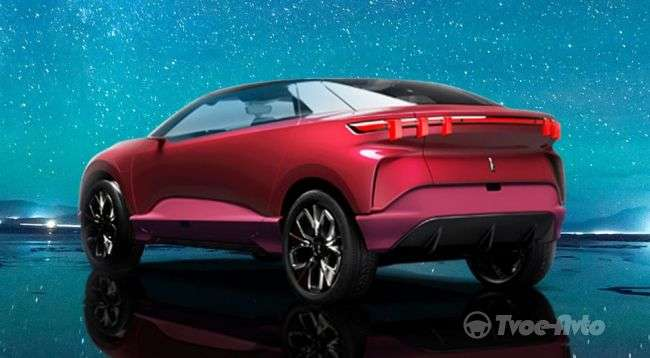 Great Wall показала новий электрокроссовер Wey XEV