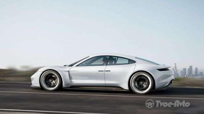 Названа орієнтовна ціна електрокара Porsche Mission E