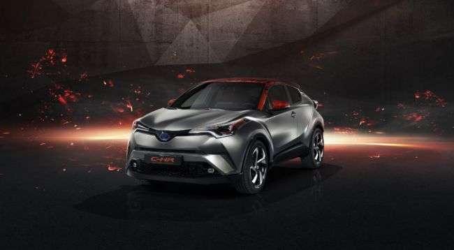 Кросовер Toyota C-HR 2018 очолить нову лінійку SUV бренду