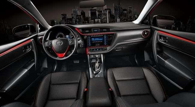 Toyota на Тайвані представила новий спортивний седан Corolla Altis X