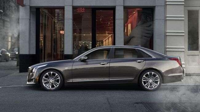 Преміальний седан Cadillac СТ6 приїде в Росію до кінця 2017 року