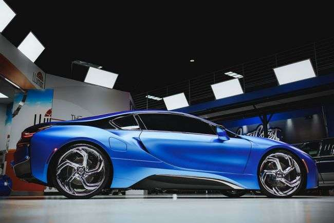 West Coast Customs представив новий проект тюнінгу BMW i3 і i8 Duo
