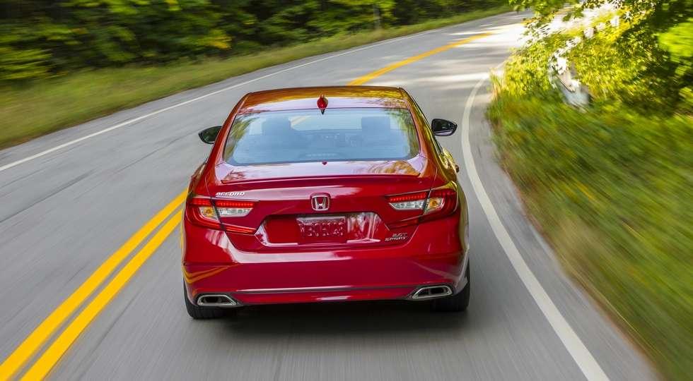 Названі ціни і комплектації десятого покоління Honda Accord