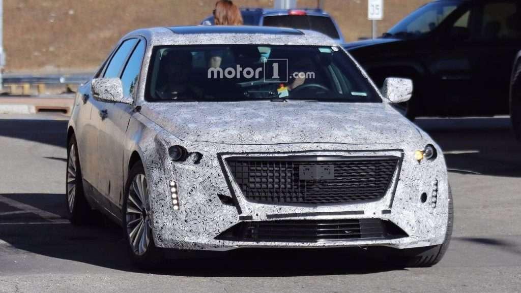Седан Cadillac CT6 2018 модельного року помітили на дорожніх тестах