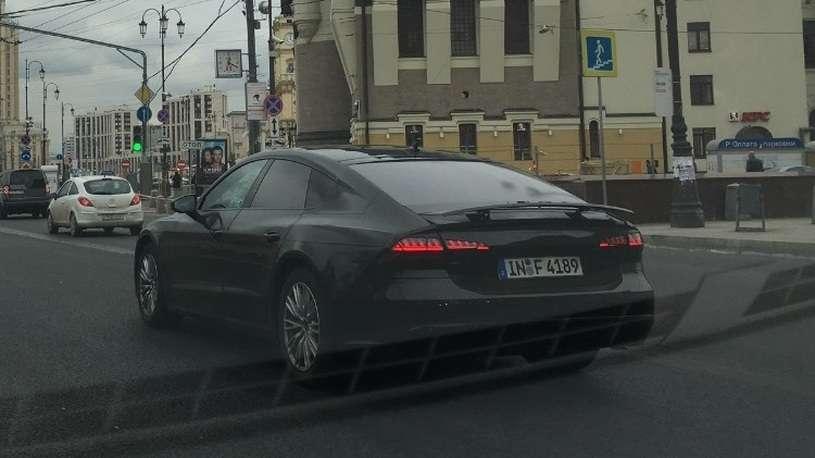 Audi почала тестування нового Audi A7 на дорогах Москви