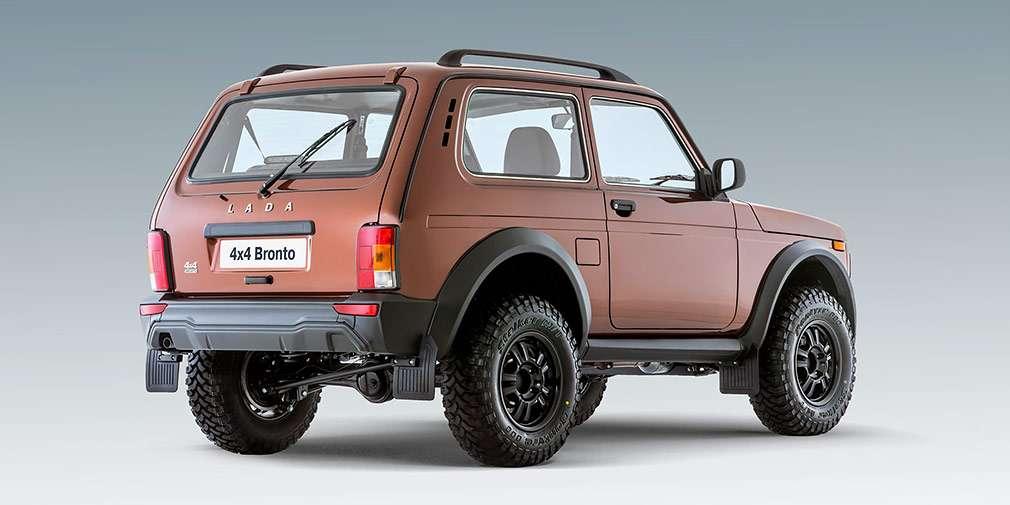 У Росії стартували продажі позашляхової версії LADA 4×4 Bronto