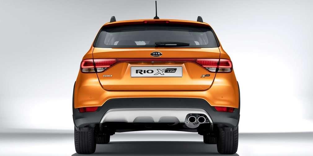 Kia представила «крос-хетчбек Kia Rio для російського ринку