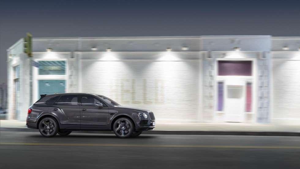 Bentley Bentayga в Росії отримав нову версію Bentayga Black Edition