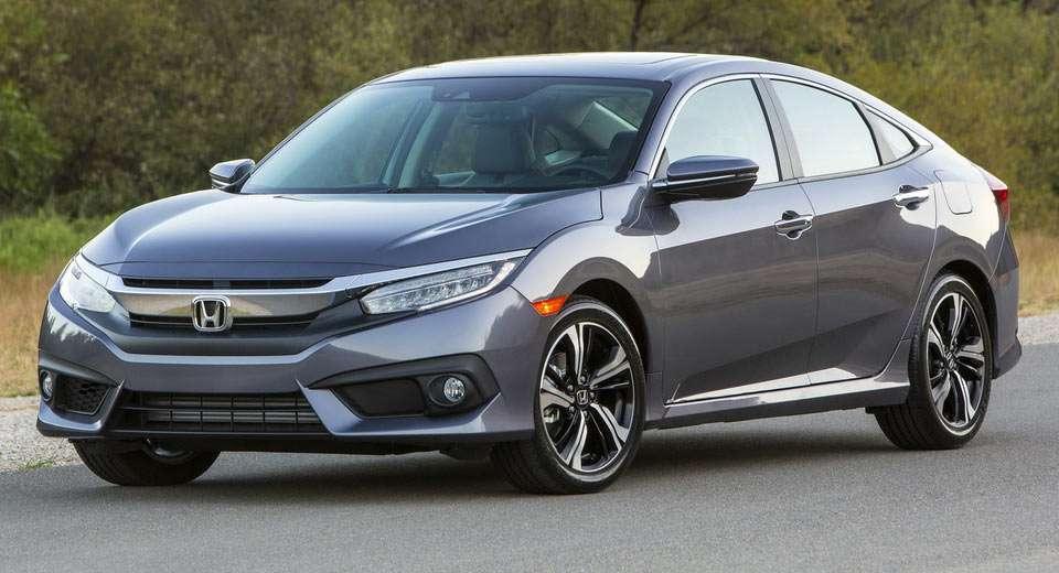 Honda оголосила вартість нового седана Honda Civic 2018 модельного року